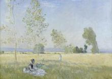 Claude Monet (1840-1926) Sommer, 1874 Öl auf Leinwand 57 x 80 cm Staatliche Museen zu Berlin, Nationalgalerie Foto: bpk / Nationalgalerie, SMB / Jörg P. Anders