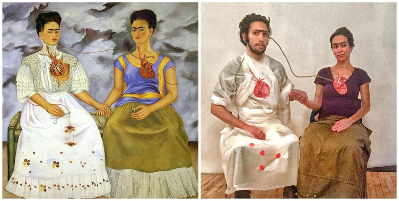 "the two fridas ""the two fridas"" by frida kahlo is another example of a personal experience that kahlo painted her divorce was the."